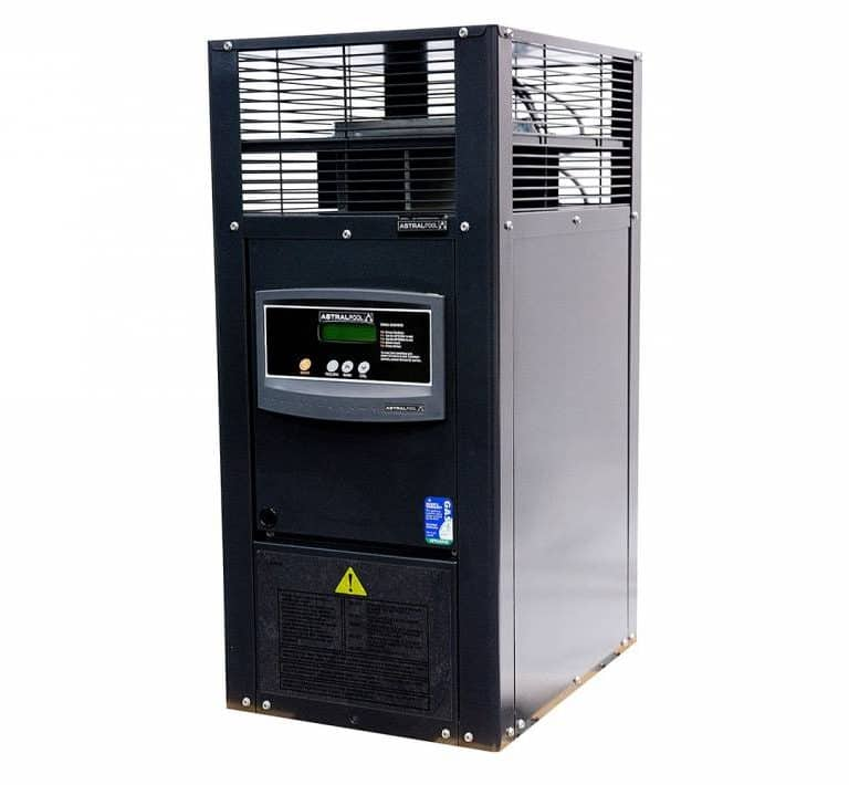 Image of HX Gas Heater with white Background