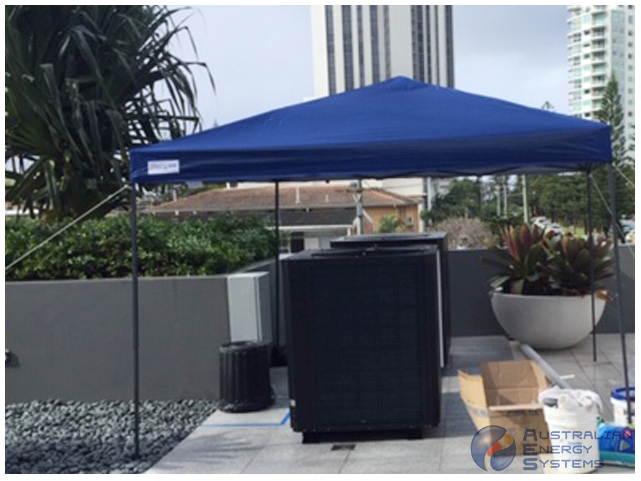Commercial Inverter Heat Pump - 150T - Goldcoast 1
