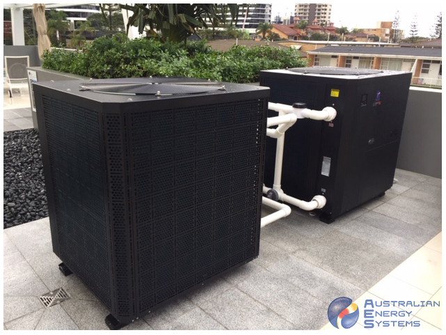 Commercial Heat Pumps - Commercial Inverter Heat Pump - 150T - Goldcoast