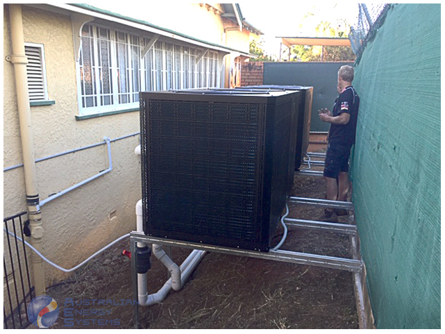 Commercial Inverter Heat Pump 300T - Clayfield College 3