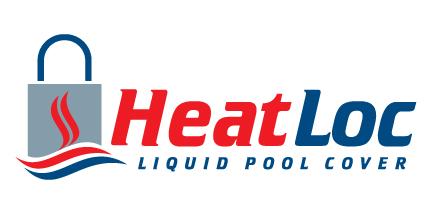 HeatLoc Logo - The Invisible Liquid Pool Cover