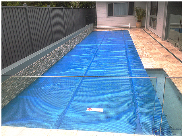Pool Cover - Wall Mounted Pool Roller 1
