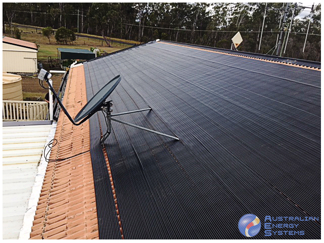Solar Pool Heating - Dish